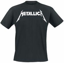 Metallica Textured Logo Männer T-Shirt schwarz   Band-Merch, Bands