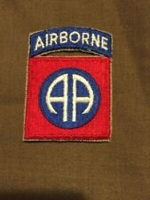 WW2 US 82ND AIRBORNE SLEEVE PATCH