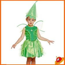 Costume Carnevale Bambina Trilly Fata Verde Tg  6 a 24 mesi
