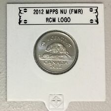 CANADA 2012 New 5 cents (BU directly from mint roll)