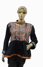 Indian Vintage Jacket Choli Tunic Top Antique Banjara Embroidered work red