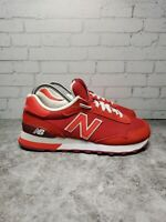 New Balance Womens Running Lace Up Red 515 - Wl515slb Athletic Shoes Size 5