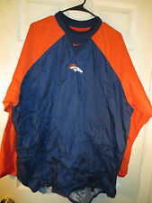 Vintage Denver Broncos - Men's V Neck Pullover - Embroidered - XL Nike Apparel