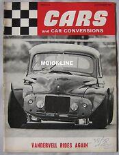 Cars & Car Conversions 09/1967 featuring Lotus Cortina, Frazer Nash BMW, MGB