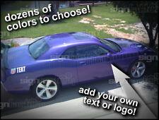 Dodge Challenger AAR Cuda Strobe Stripes 2009 2010 2011 2012 2013 2014 2015 16