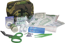 LARGE MILITARY 1ST FIRST AID KIT ALL CONTENT/ BAG CASE BRITISH DPM CAMO ARMY
