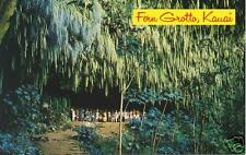 Fern Grotto, Kauai, Hawaii HI postcard
