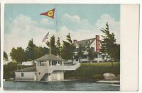 The Frontenac Yacht Club, THOUSAND ISLANDS NY, Vintage New York Postcard