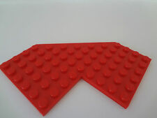 LEGO Red Plate, Modified 10 x 10 without Corner 6959 6939