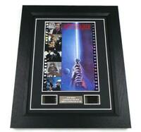 STAR WARS FILM CELLS RETURN OF THE JEDI MOVIE MEMORABILIA STUNNING DISPLAY GIFT