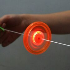 1pc Pull Line Led Fly wheel Hot Fire Wheel Glow Fly wheel Whistle Creative Class