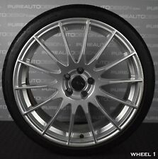 "FOX Racing 18"" Alloy Wheels With Tyres 5 x 100 VW Polo Audi A1 Fitment x FOUR"
