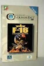 F-16 FIGHTING FALCON GIOCO USATO OTTIMO PC CD ROM VERSIONE ITALIANA RS2 47020