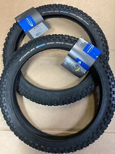 Pair Schwalbe 16 X 1.75 Inch Mad Mike Bmx Tyres