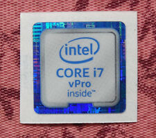 Intel Core i7 vPro Inside Sticker 18 x 18mm 2015 Version Skylake Case Badge
