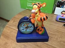 Disney Tigger Clock 4AA Winnie The Pooh Batteries Works