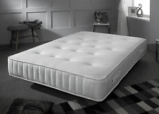 "3FT Single 4FT6 Double 5FT Kingsize 6FT Super 10"" Memory Foam Sprung Mattress"