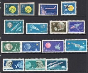 Bulgaria 1959-62 Space Some Better Airmails MNH CV$72