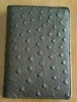 Neiman Marcus Ostrich Wallet