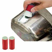 Metal Cleaning Stainless Steel Cleaner Pot Rust Brusher Magic Soften Glass Fiber