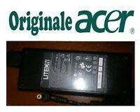 Caricabatterie alimentatore Acer Aspire 5613ZWLMi - ORIGINALE 90W 19V 4.74