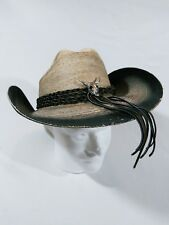 SunBody Hats Houston Handcrafted Guatemalan Palm Cowboy Cattleman Hat