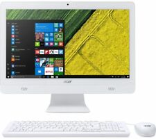 "Acer Aspire C20-720 All in One Desktop PC 19.5"" 4gb RAM 1tb HDD White"