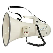 New SoundArt 45 Watt Portable Hand-Held Megaphone with Record & Playback