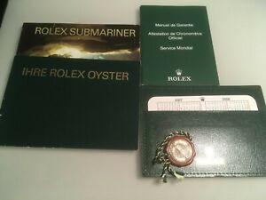 Rolex Submariner Booklet Set  2008   deutsche Ausgabe 6 teilig