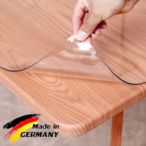 Tischfolie Tischdecke Schutzfolie Tischschutz Folie transparent 2.5 mm Glasklar