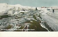 OLD ORCHARD ME - Winter Scene at Ocean Park Beach - udb (pre 1908)