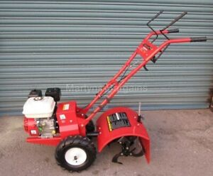 Petrol Rotovator Mattis Tiller/Rotavator 6.5Hp W/ Both Forward + Reverse Drive