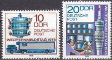 DDR Mi.-Nr. 2316-2317 postfrisch Weltfernmeldetag 1978