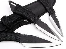 3pcs of Tactical Straight Knife 3 Coltelli militari