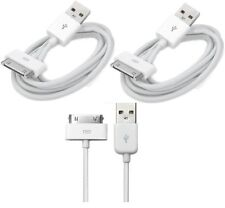 2 x USB Sync Data Charging Charger Cable Cord fits Apple4 iPhone4 4S ipod 4G 4th