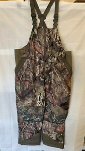 Game Winner Men's Mossy Oak Break-Up Country Camo Insulated Hunting Bibs - 3XL