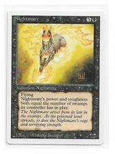 Magic The Gathering 1x Nightmare ~ REVISED ~  MP