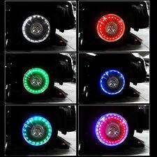 13 Mode Solar Energy LED13 MCar Solar Wheel Tire Tyre Valve Cap Light Lamp Decor