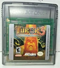 Turok 3 Shadow of Oblivion for Nintendo Game Boy Color Game Cartridge Only 2000