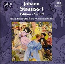 Johann Strauss I Edition Vol. 19 - J. Strauss (2011, CD NIEUW)