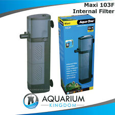 Aqua One Maxi 103F Internal Aquarium Power Filter 960L/H Submerse in Fish Tank