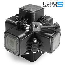 360 Degree Panorama Mount Rig for 6x GoPro Go Pro HERO 5 Session Accessory