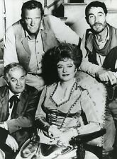 "JAMES ARNESS AMANDA BLAKE MILBURN STONE KEN CURTIS ""GUNSMOKE"" PHOTO SERIE TV CM"
