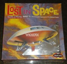 Lost in Space Limited Edition SILVER CHROME JUPITER 2 Model Kit MISB Polar Light