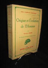 Origine et Evolution de l'Homme - Georges Goury