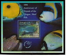 BRITISH INDIAN OCEAN TERRITORY 2002 SC 254 10TH ANN. FRIEND OF CHAGOS MNH OG VF
