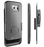 Arden® Samsung Galaxy S6 Slim Combo Case w/ Kickstand Belt Clip Holster Cover