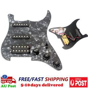 SSH Loaded Prewired Guitar Pickguard Alnico V Humbucker Pickup for ST Strat