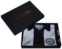 Kevin Keegan SIGNED Newcastle United Shirt Autograph Gift Box Football New COA