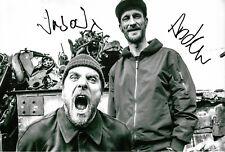 Sleaford Mods Autogramme signed 20x30 cm Bild s/w